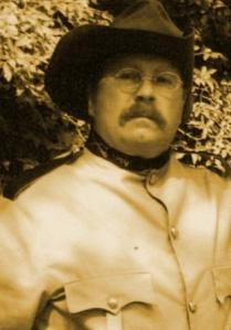 Theodore Roosevelt impersonator Adam Lindquist