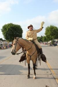 Teddy Roosevelt on Horseback