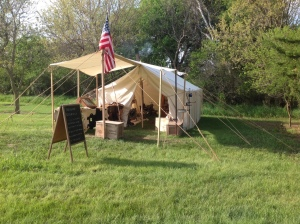 TR Camp at Fort Kearny Outdoor Expo