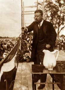 Speaking Theodore Roosevelt 1907