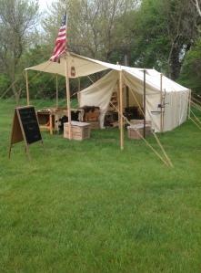 TR camp set-up