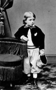 Teedie Roosevelt at age 4