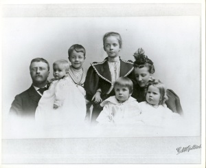 Roosevelt-family-in-1895